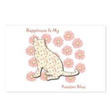 Blue Happiness Postcards (Package of 8)