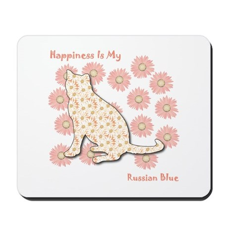 Blue Happiness Mousepad