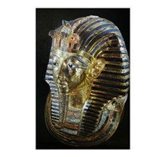 Tutankhamon_Mask_square Postcards (Package of 8)