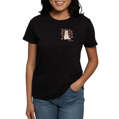 Fold Happiness Women's Dark T-Shirt