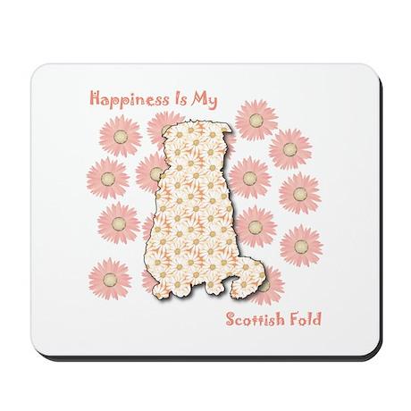 Fold Happiness Mousepad