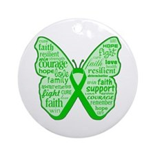 Spinal Cord Injury Ornament (Round)