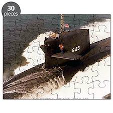 hlstimson lare framed print Puzzle