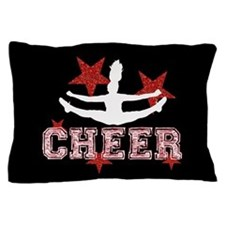 Cheerleader In Black And Red Pillow Case
