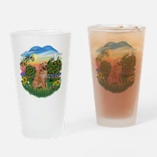 Bright Country - Golden 1 Drinking Glass