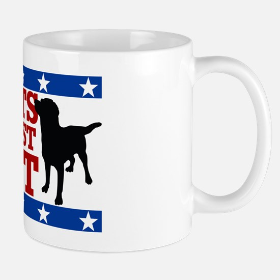 Mutts Against Mitt-20x12 Mug