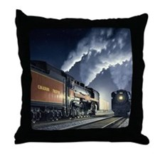 night_meet Throw Pillow