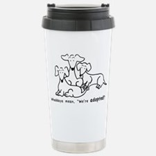 Adopted?1 Stainless Steel Travel Mug