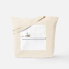 Deadrise Boat Tote Bag