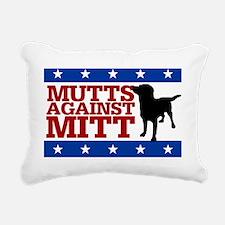 mitt-yard-sign Rectangular Canvas Pillow