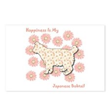 Bobtail Happiness Postcards (Package of 8)