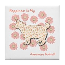 Bobtail Happiness Tile Coaster
