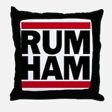 Rum Ham DMC_light Throw Pillow