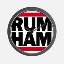 Rum Ham DMC_light Wall Clock