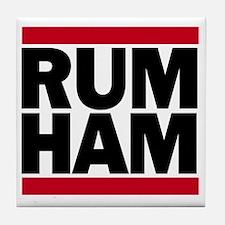 Rum Ham DMC_light Tile Coaster