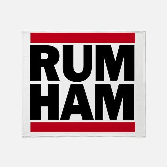 Rum Ham DMC_light Throw Blanket