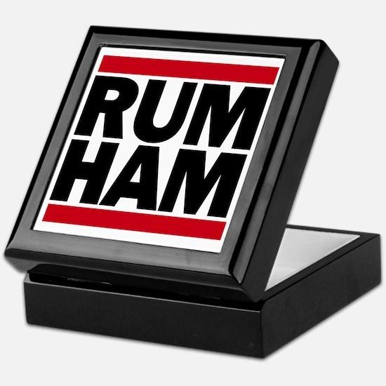 Rum Ham DMC_light Keepsake Box