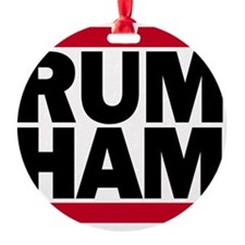 Rum Ham DMC_light Ornament