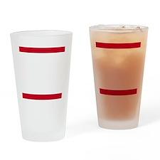 Rum Ham DMC_dark Drinking Glass
