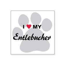 "entlebucher Square Sticker 3"" x 3"""