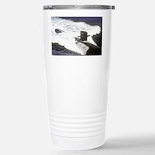 houston lare framed print Travel Mug
