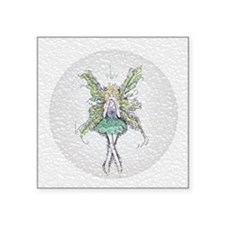 """Squished Clover Faery Square Sticker 3"""" x 3"""""""