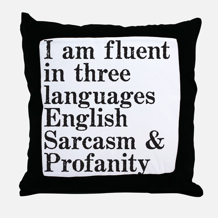 fluent Throw Pillow