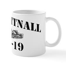 tattnall black letters Mug