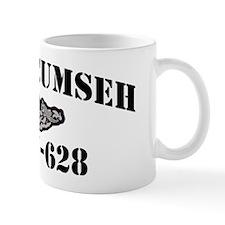 tecumseh black letters Mug