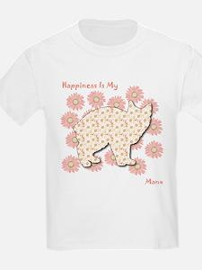 Manx Happiness Kids T-Shirt