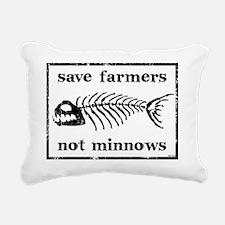 sept_save_farmers Rectangular Canvas Pillow