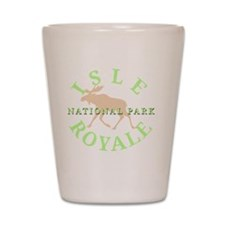 isleroyalenationalpark-white Shot Glass