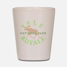 isleroyalenationalpark-white Shot Glass