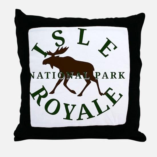 isleroyalenationalpark Throw Pillow