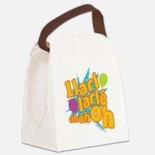 ILARI LARIE OH OH OH Canvas Lunch Bag