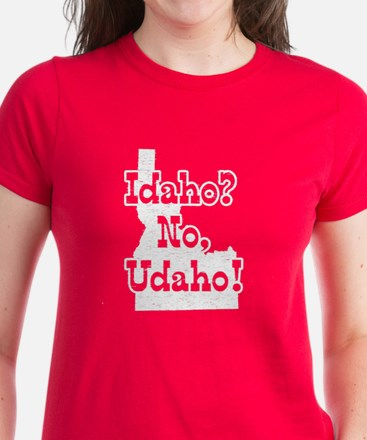 Idaho No Udaho Women's Dark T-Shirt