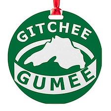 Gitchee Gumee Ornament
