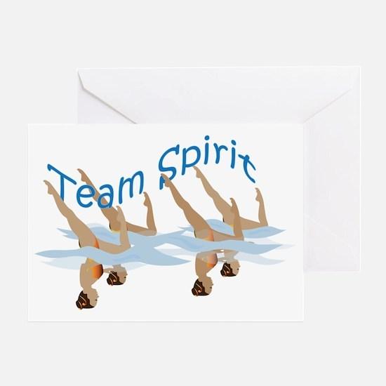 4TeamSpirit Greeting Card