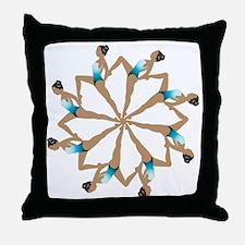 8TeamCircle Throw Pillow