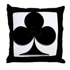 Club Suit Throw Pillow