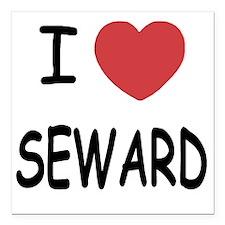 "SEWARD Square Car Magnet 3"" x 3"""