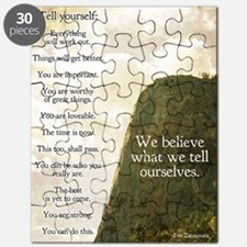 Tell yourself poster Puzzle