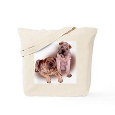 two sharpeis Tote Bag