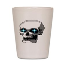 phantom1 large Shot Glass