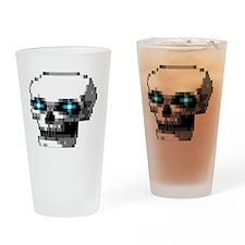 phantom1 large Drinking Glass