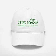 Pez Head Logo w website transparent Baseball Baseball Cap