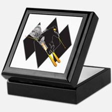 black diamond dude Keepsake Box