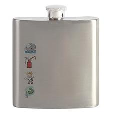 Irish Accent Wht Flask