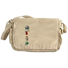 Irish Accent Wht Messenger Bag