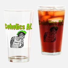 Coholics AL Punk Drinking Glass